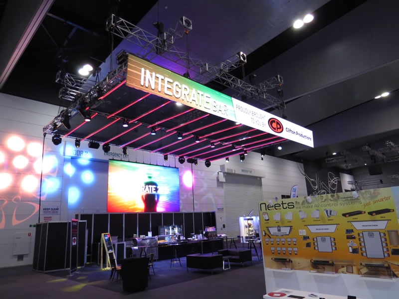 Exhibition Stand Lighting Qld : Exhibitions clifton productions