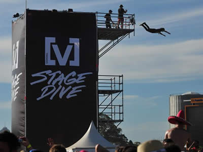 Stage Dive Tower